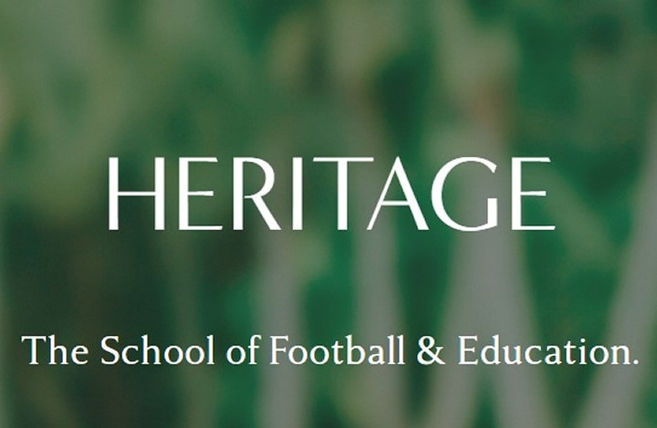 Enrol with Heritage - The School of Football and Education